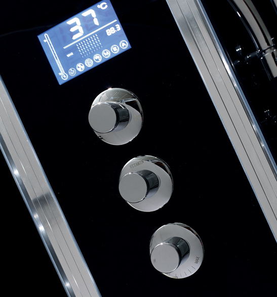 colonne de douche hydromassante avec radio
