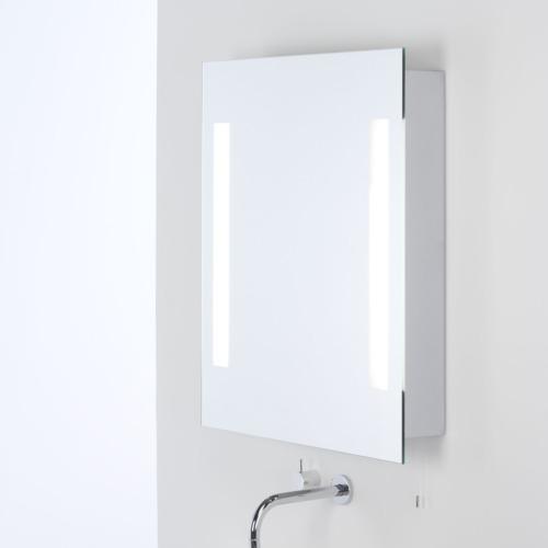 Miroir lumineux avec prise rasoir livorno shaver astro - Miroir salle de bain lumineux avec prise de courant ...