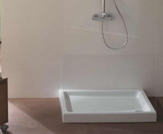 Receveur extra plat de douche rettango 70x85 cm en c ramique - Receveur de douche extra plat ceramique ...